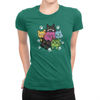 6 Kitties - Ladies T-Shirt Kelly