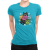 6 Kitties - Ladies T-Shirt Turquoise