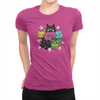6 Kitties - Ladies T-Shirt Berry
