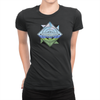Trainer Tips Color Logo - Ladies T-Shirt Black