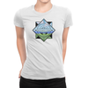 Trainer Tips Color Logo - Ladies T-Shirt White