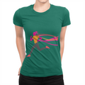 Female Runner - Ladies T-Shirt