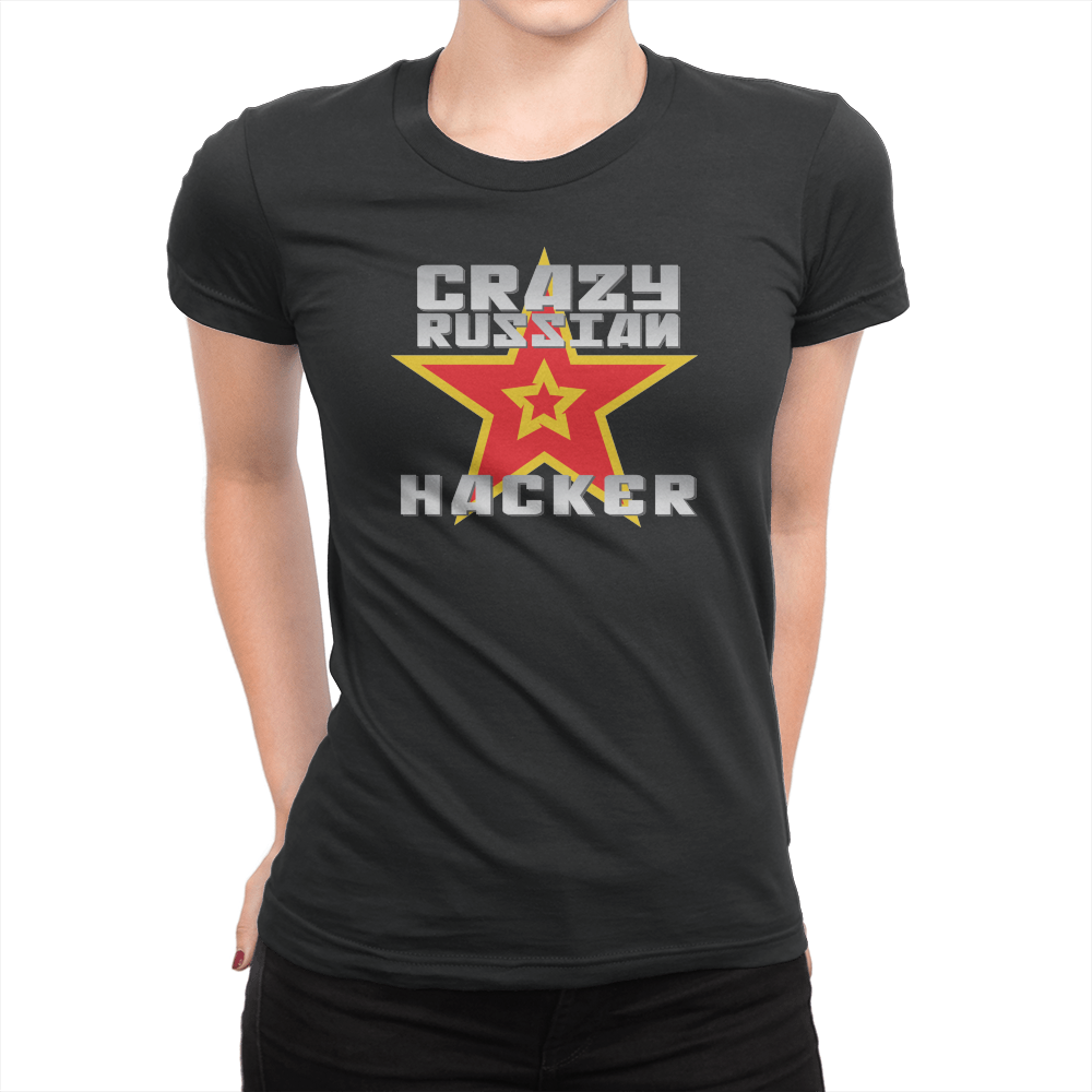 164194bc601 Crazy Russian Hacker - Double Star - Ladies T-Shirt - Crowdmade