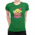 Slimey Kitchen - Ladies T-Shirt Leaf