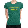 Animation Rewind - Ladies T-Shirt