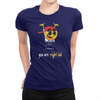 You Are Right Lad - Ladies T-Shirt Navy