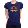 ADHD's World - Ladies T-Shirt Navy
