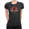 ADHD's World - Ladies T-Shirt Black