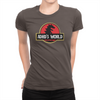 ADHD's World - Ladies T-Shirt Chocolate