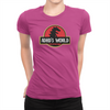 ADHD's World - Ladies T-Shirt Berry