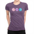 Slime - Ladies T-Shirt Team Purple