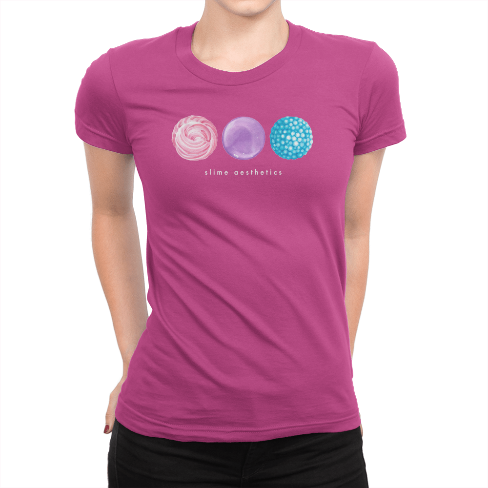 Slime - Ladies T-Shirt Berry