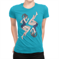 Two Sides Swimsuit - Ladies T-Shirt