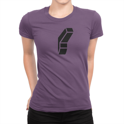Light Switch - Ladies T-Shirt Team Purple
