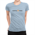 Essential Tennis Logo - Ladies T-Shirt