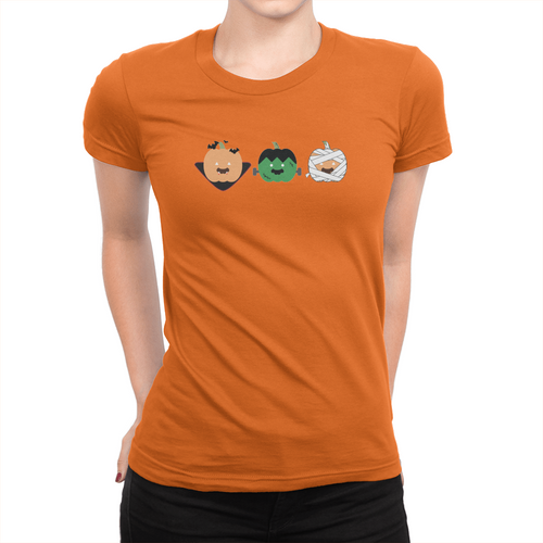 OJ Halloween - Ladies T-Shirt Orange