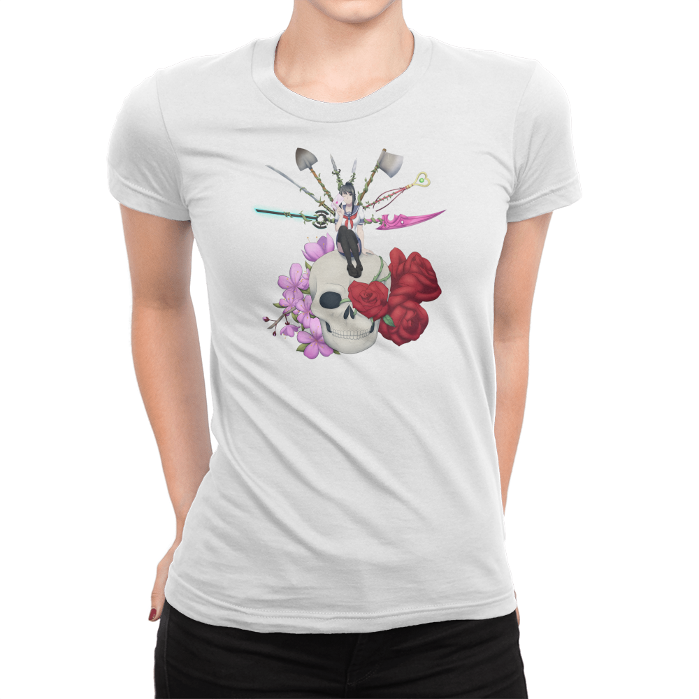 Deadly Lover - Ladies T-Shirt White