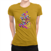 RushLight Party - Ladies T-Shirt Gold