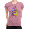 RushLight Party - Ladies T-Shirt Hot Pink