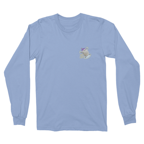 Aksually Snow Angel Longsleeve Shirt