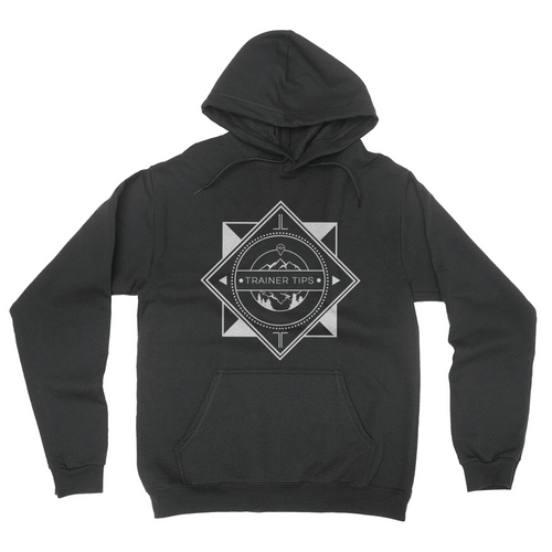 Trainer Tips Logo - Hoodie Black