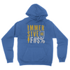 Immersive as F#$% Hoodie Royal Blue