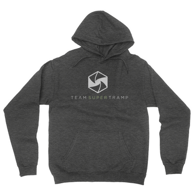 Team Super Tramp - Unisex Pullover Hoodie Dark Heather