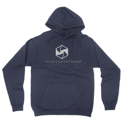 Team Super Tramp - Unisex Pullover Hoodie Navy