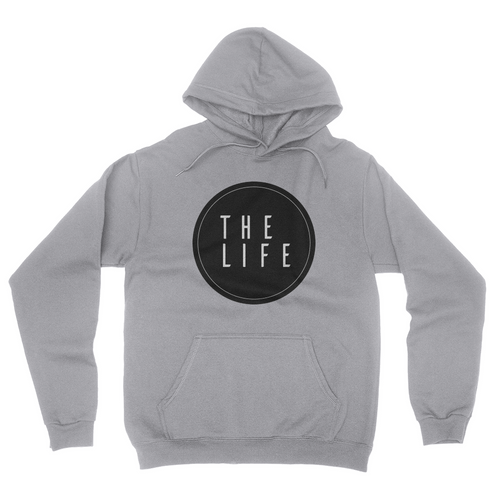 The Life - Unisex Pullover Hoodie Ash