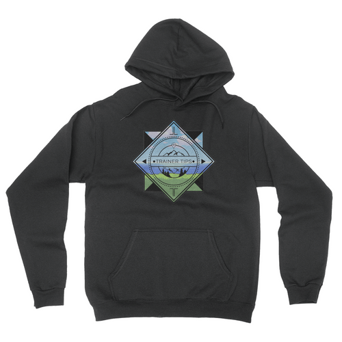 Trainer Tips Color Logo - Unisex Pullover Hoodie