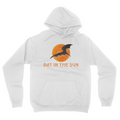 Bat In The Sun Logo - Unisex Pullover Hoodie White