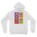 Artsy Guavs - Unisex Pullover Hoodie White