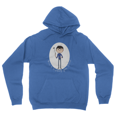 Really Good Shirt - Unisex Pullover Hoodie Royal Blue