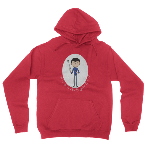 Really Good Shirt - Unisex Pullover Hoodie Red