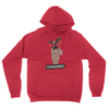 Ice Shirt - Unisex Pullover Hoodie Red