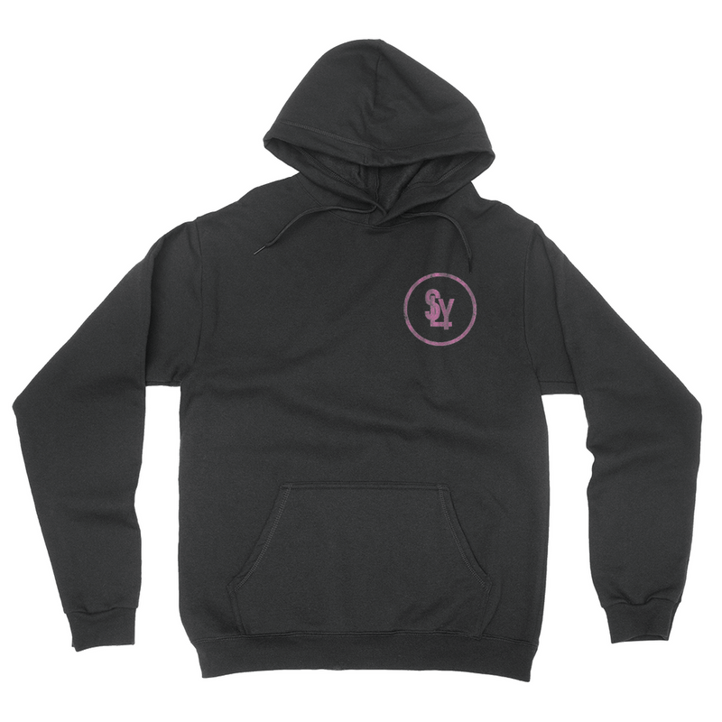 SLY Pocket Logo - Unisex Pullover Hoodie