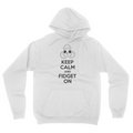 Keep Calm - Unisex Pullover Hoodie White