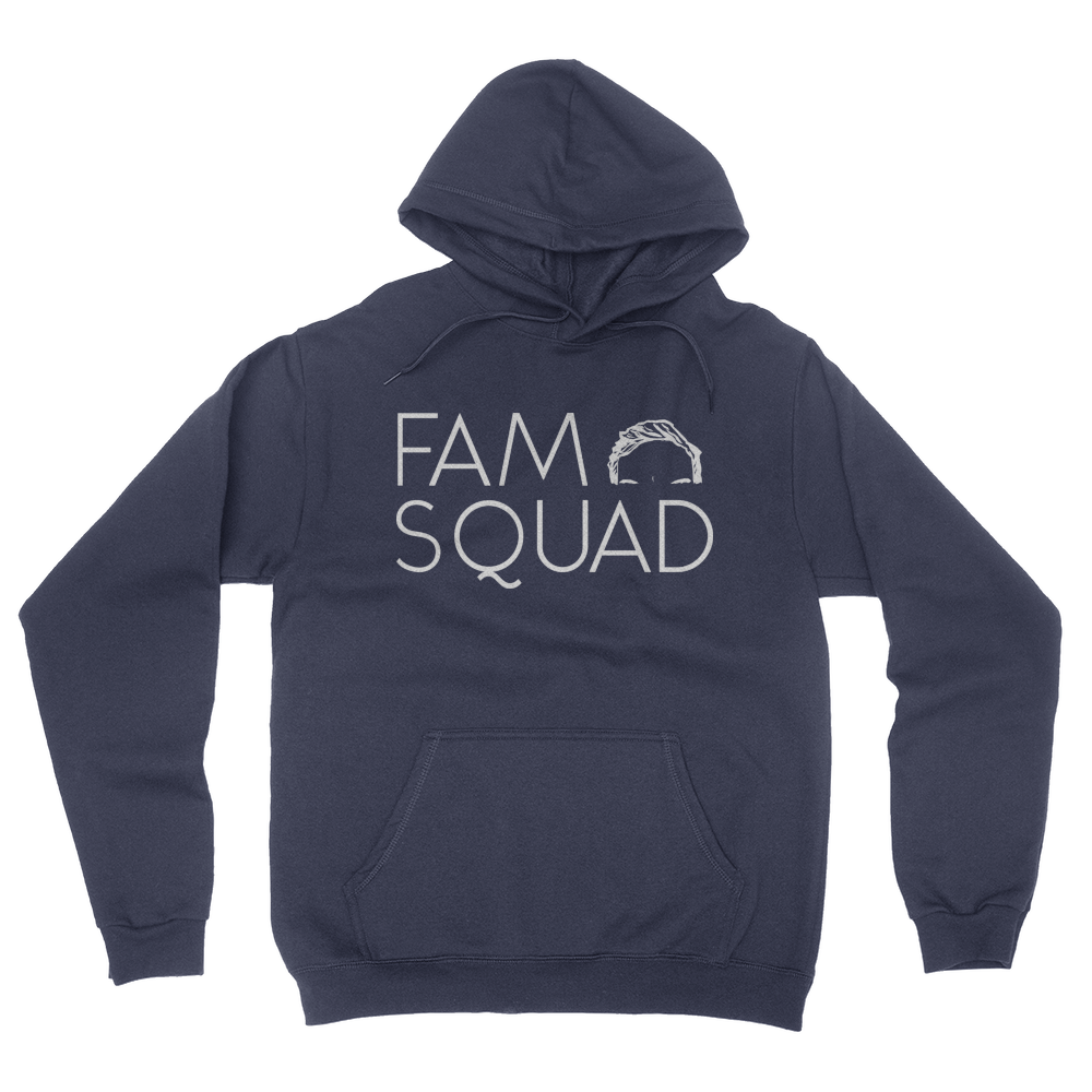 Fam Squad - Unisex Pullover Hoodie Navy