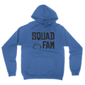 Squad Fam - Unisex Pullover Hoodie Royal Blue
