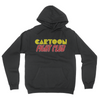 Cartoon Fight Club - Unisex Pullover Hoodie Black