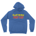Cartoon Fight Club - Unisex Pullover Hoodie Royal Blue