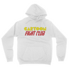 Cartoon Fight Club - Unisex Pullover Hoodie White
