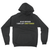 In My Defense - Unisex Pullover Hoodie Black