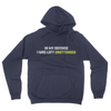 In My Defense - Unisex Pullover Hoodie Navy