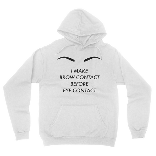 Brow Contact - Unisex Pullover Hoodie