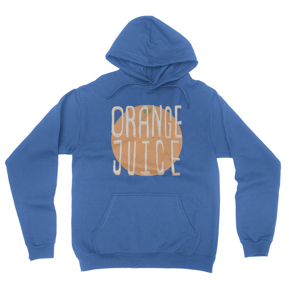 Orange Juice - Unisex Pullover Hoodie Royal Blue