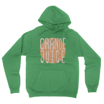 Orange Juice - Unisex Pullover Hoodie Irish Green