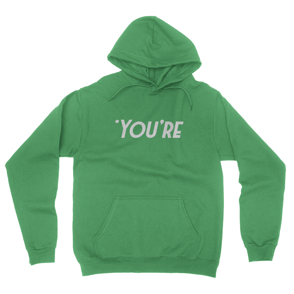 You're - Unisex Pullover Hoodie Irish Green