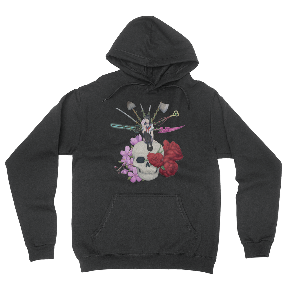 Deadly Lover - Unisex Pullover Hoodie Black