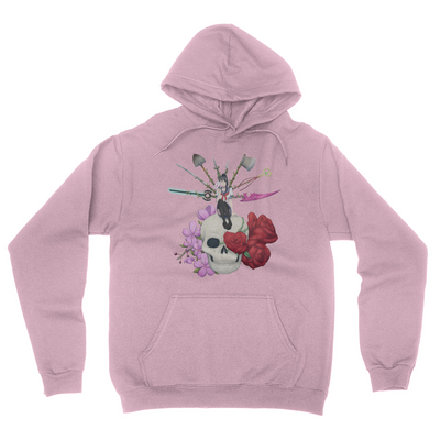 Deadly Lover - Unisex Pullover Hoodie Light Pink